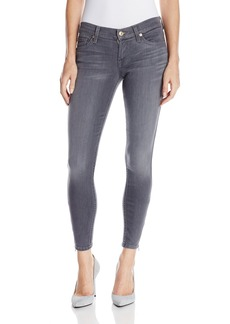 7 For All Mankind Women's Skinny with Ankle Zips Jean