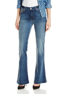 7 For All Mankind Women's Slim Trouser Flare Jean
