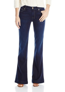 7 For All Mankind Women's Slim Trouser Flare Jean In
