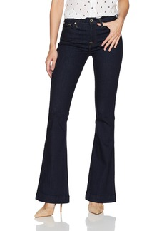 7 For All Mankind Women's Slim Trouser Jean with Clean Back Pocket