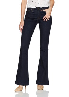 7 For All Mankind Women's Slim Trouser Jean with Clean Back Pocket in