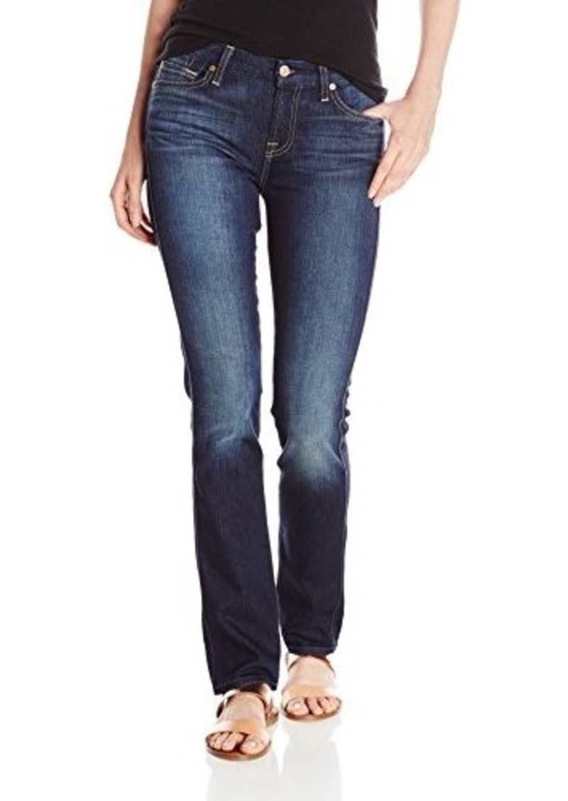 7 for all mankind 7 for all mankind women 39 s straight leg jean denim shop it to me. Black Bedroom Furniture Sets. Home Design Ideas