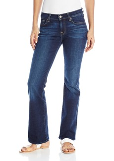 7 For All Mankind Women's Tailor Less Boot Cut Jean  27