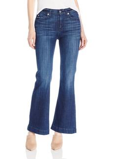 7 For All Mankind Women's Petite Size Tailorless Ginger Jean (Short Inseam)