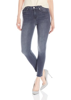 7 For All Mankind Women's the High Waist Ankle Skinny Jean with Raw Hem