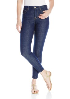 7 For All Mankind Women's The Hw Ankle Skinny Jean