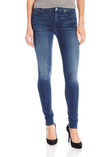 7 For All Mankind Women's the Skinny Jean in Slim Sim Illusion Luxe-Luminous
