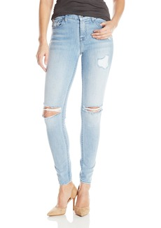7 For All Mankind Women's the Skinny Jean with Destroy 2