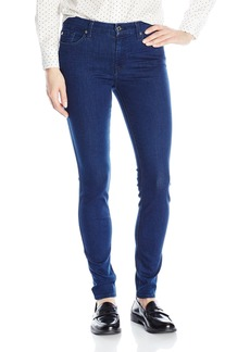 7 For All Mankind Women's The Skinny with Tonal Squiggle Jean