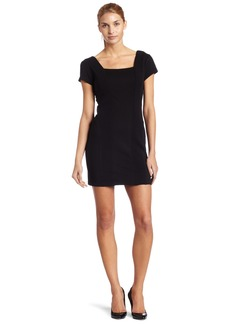 7 For All Mankind Women's Waffle Panel Dress
