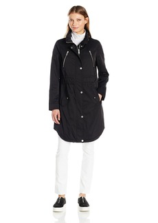 7 For All Mankind Women's Water Repellent Triple Tunnel Anorak Jacket  M