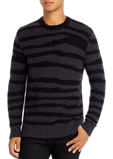 7 For All Mankind Zebra Modal Crewneck Sweater