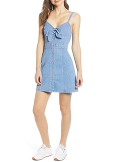 7 For All Mankind(R) Double Tie Dress