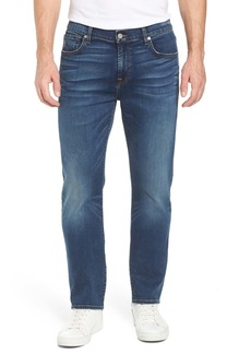 7 For All Mankind(R) The Straight - Luxe Performance Slim Straight Leg Jeans (Union)