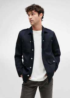 7 For All Mankind 'A' Pocket Field Jacket in Navy