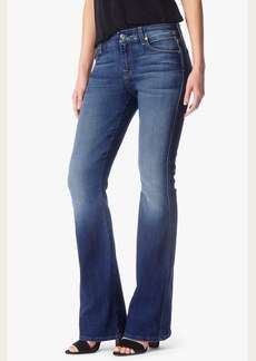 "7 For All Mankind ""A"" Pocket Flare in Bright Indigo Stretch"