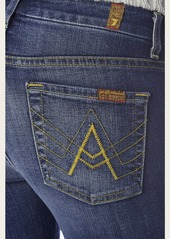 "7 For All Mankind ""A"" pocket flare in crete island"