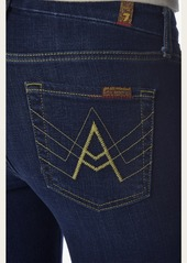 "7 For All Mankind ""A"" Pocket Flare in Nouveau New York Dark"
