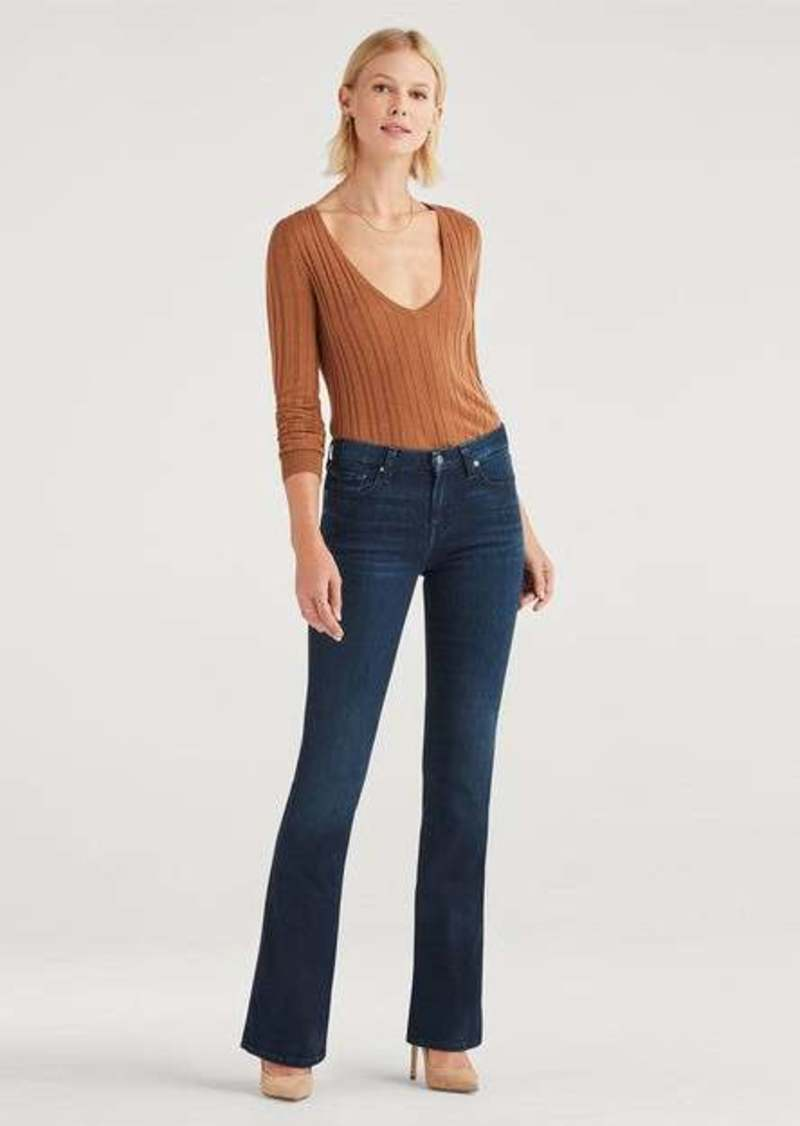 """7 For All Mankind """"A"""" Pocket Flare in Tideland"""