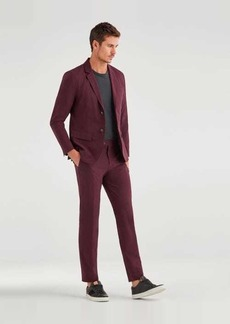7 For All Mankind Ace Modern Trouser in Burgundy