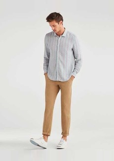 7 For All Mankind Ace Modern Trouser in Khaki