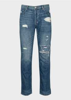 7 For All Mankind Adrien Slim Taper in Palisades