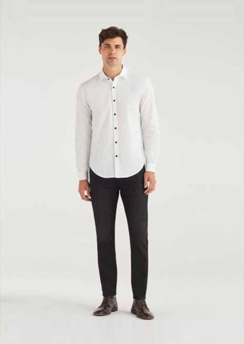 7 For All Mankind Airweft Denim Adrien Slim Tapered with Clean Pocket in Code 66