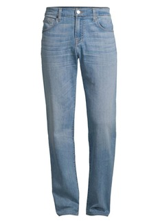 7 For All Mankind Airweft Modern-Fit Straight-Leg Jeans