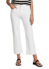 7 For All Mankind Alexa High-Rise Crop Wide Leg Jeans