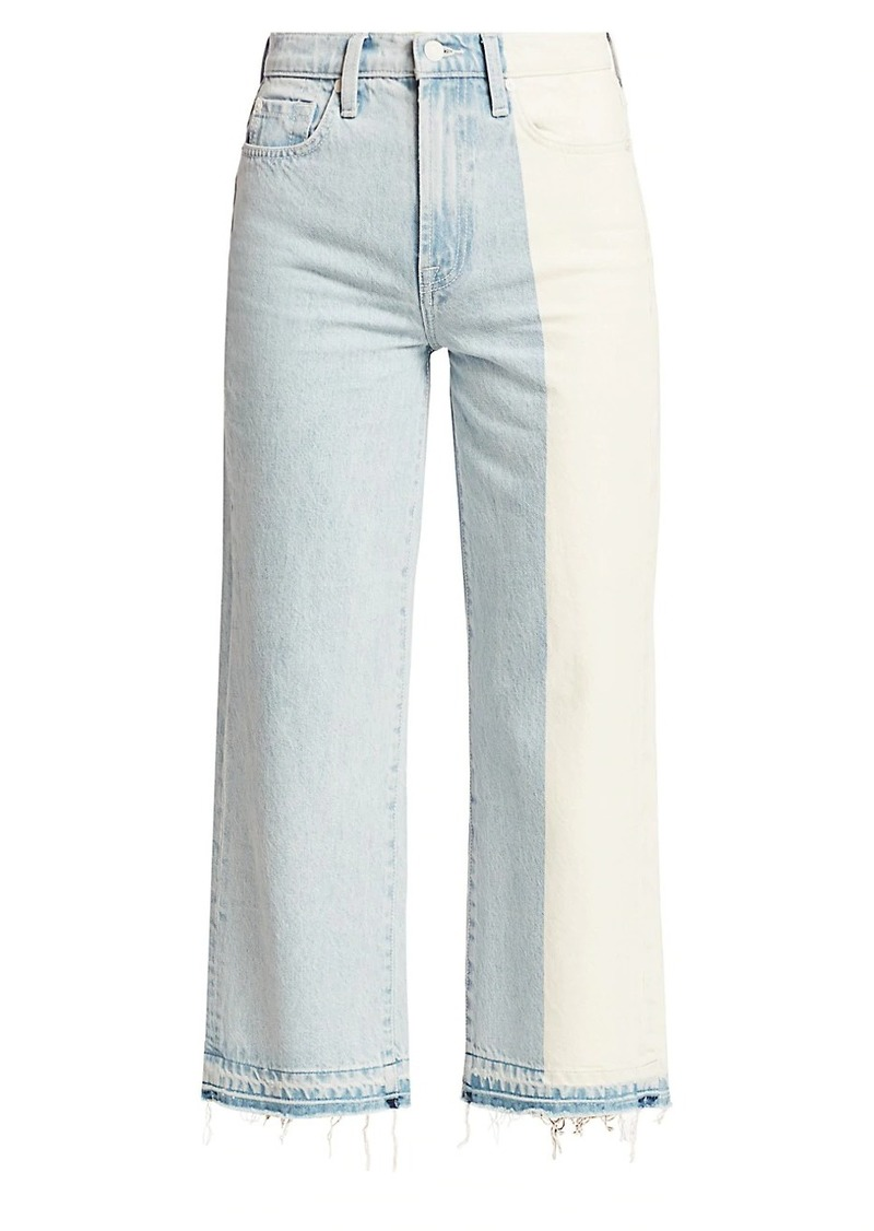 7 For All Mankind Alexa High-Rise Straight Cropped Jeans
