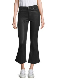 7 For All Mankind Ali Coated Flared Jeans