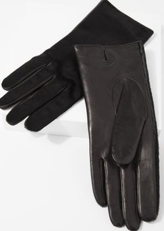 7 For All Mankind Amato Calf Hair Short Gloves in Black