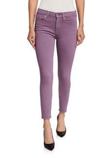 7 For All Mankind Ankle Gwenevere Squiggle-Pocket Jeans