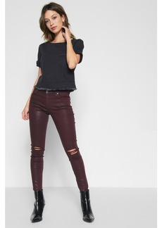 Ankle Skinny Coated with Destroy in Scarlet