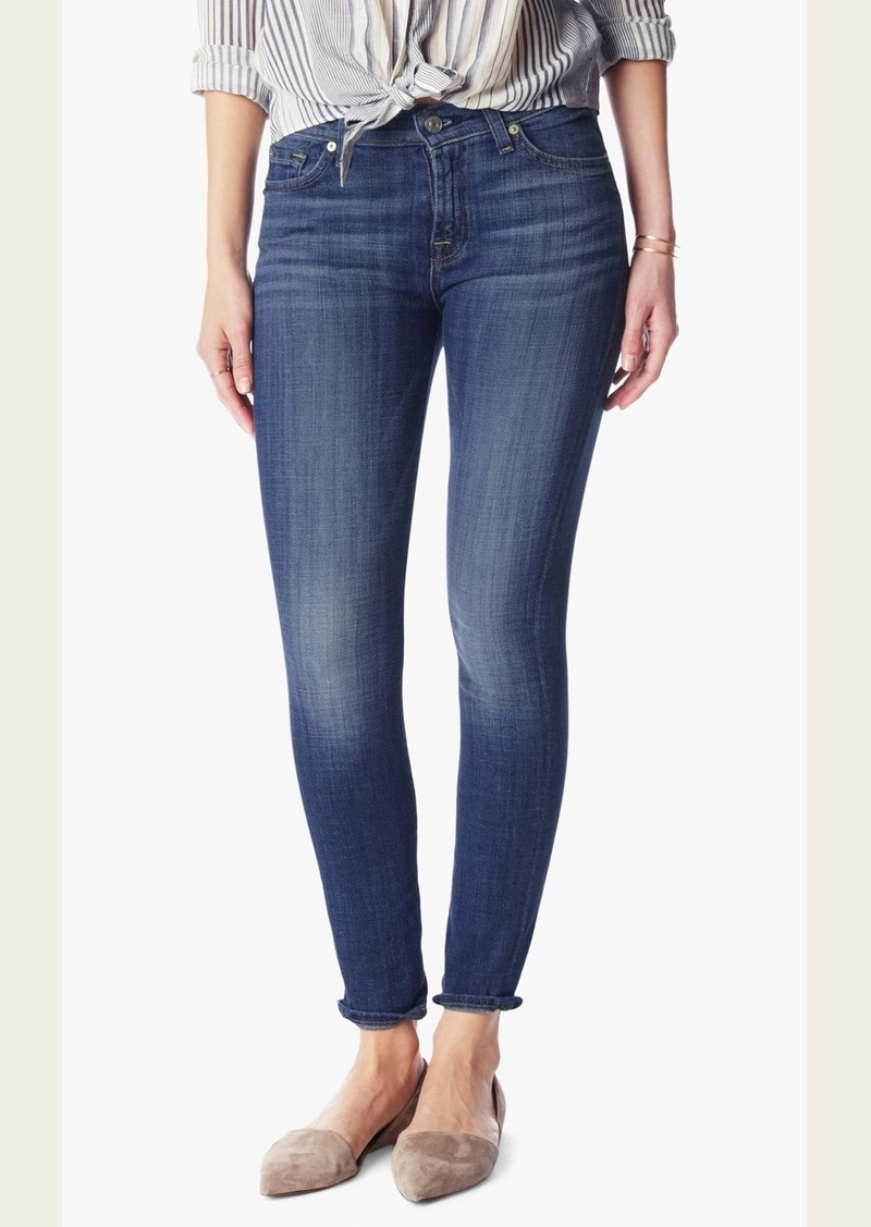 7 For All Mankind Ankle Skinny in Athens Broken Twill