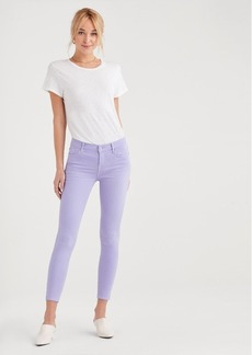 7 For All Mankind Ankle Skinny in Soft Lilac