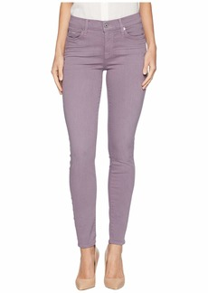 7 For All Mankind Ankle Skinny in Violet Sky Sandwashed Twill