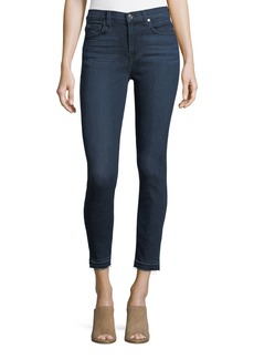 7 For All Mankind Ankle-Skinny Jeans with Released Hems