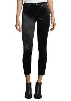 Ankle Skinny Velvet Pants