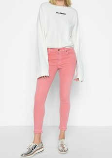 7 For All Mankind Ankle Skinny with Released Hem in Primrose