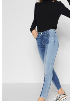 Ankle Skinny with Shadow Seam and Studs in Madison Shadow