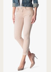 7 For All Mankind Ankle Straight with Released hem in Pink