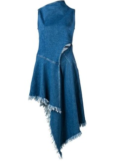 7 For All Mankind asymmetric denim dress