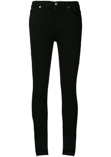 7 For All Mankind asymmetric hem jeans