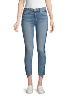 7 For All Mankind Asymmetrical Ankle Jeans