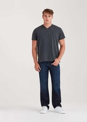 7 For All Mankind Austyn Relaxed Straight in Los Angeles Dark 36'' Inseam