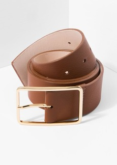 7 For All Mankind B-Low The Belt Milla Belt in Brandy and Gold