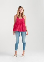 7 For All Mankind Babydoll Camisole in Hot Pink