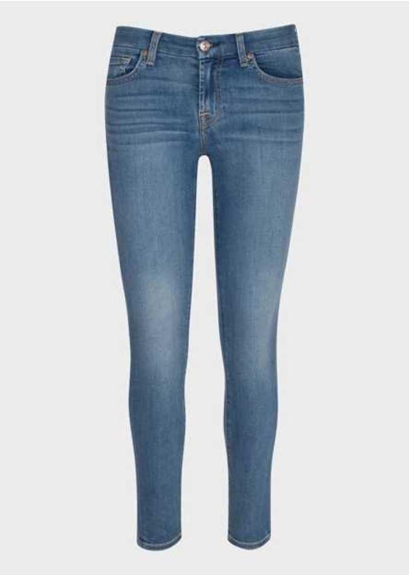7 For All Mankind b(air) Ankle Skinny in Vintage Blue