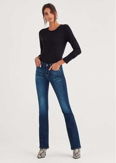 7 For All Mankind b(air) Authentic Denim Kimmie Bootcut in Fate